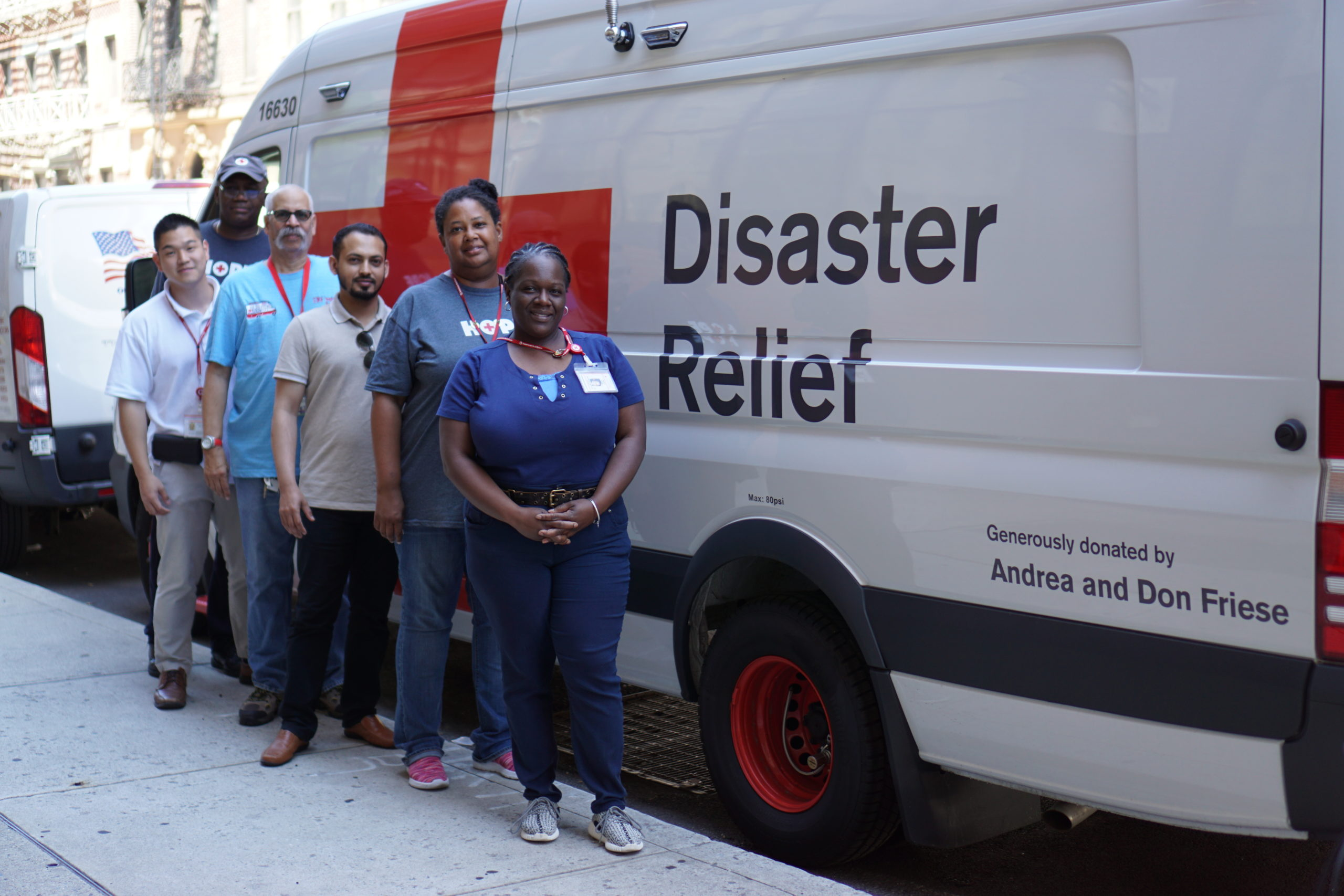 The Friese Foundation Donates Two ERVs to the American Red Cross